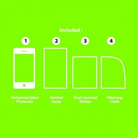 iScreen Tempered Glass Anti-Shock Back Protector for iPhone 6