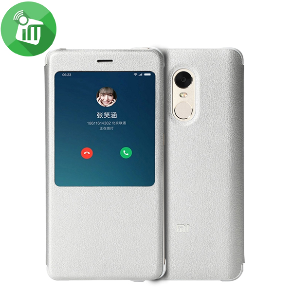 on sale ed15e ad0ae Xiaomi Redmi Note 4 Smart View Flip Case