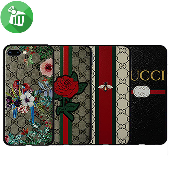 brand new e3c35 2f0ce ST GUCCI 3D Printing Case For iPhone 7 / 8 Plus